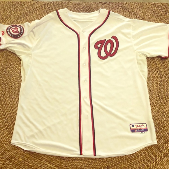 outlet store 2f05b ca3c6 MLB Authentic Washington Nationals Team Jersey S56